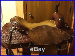Billy Cook cutting cutter saddle Special made 16 NR