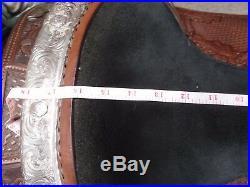 Billy Royal 16 FQHB Dark Oil Show Saddle 2nd PRICE DROP $1,150 + $50 ship