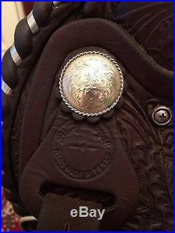 Billy Royal Arabian Morgan Western Saddle 15