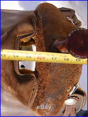 Billy Royal Pro Training Work saddle 16 Oiled roughout Saddle