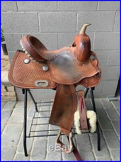 Billy cook barrel saddle 14.5