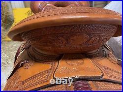 Billy cook western saddle