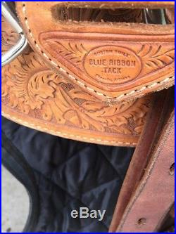 Blue Ribbon Show Saddle