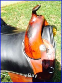 Bob Marshall 17 inch Treeless Saddle