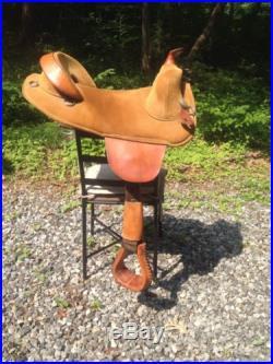 Bob Marshall Treeless Western Saddle 15