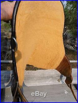 Bob marshall treeless Endurance saddle / Genuine Sports saddle 16