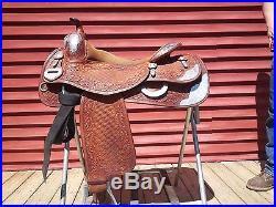 Bob's 16 Custom Reining Saddle