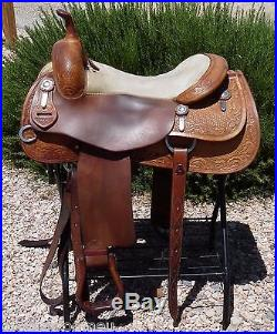 Bob's Al Dunning Cowhorse Saddle 16.5