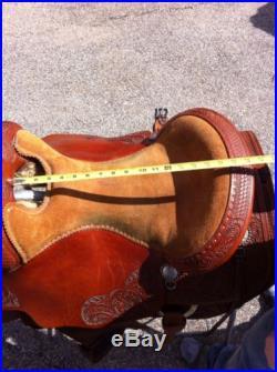 Bob's Custom Duane Latimer Reining Saddle NR