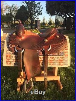 Bob's Custom Saddle 16 Reining Saddle. Super Comfortable! Great Used Condition