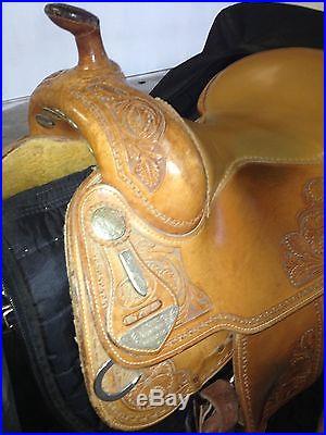 Bob's Custom Saddles Bob Avila Reining Saddle