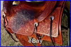 Bobs Ted Robinson Cowhorse Reining Cutting Saddle Western Tack Beautiful