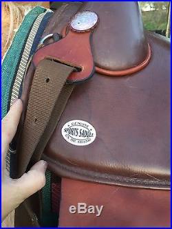 Brown Bob Marshall Endurance Saddle and Stilo Pad- Gorgeous- 15