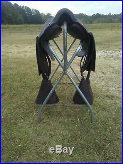 Buena Vista BONA ALLEN 318 Style Plantation Saddle WithHooded Wooden Stirrups