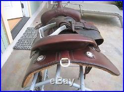 CASHEL MARTIN TRAIL SADDLE 16 IN SEAT, WESTERN COWBOY TACK