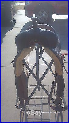 Calvin Allen Cutting Saddle