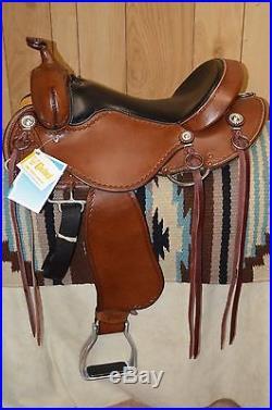 Cashel Western Trail Saddle by Martin 16 inch Wide