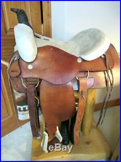 Circle T 1726 model, 16 Rawhide Western Roping / Ranch Saddle, low miles