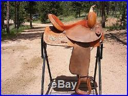 Circle Y 14 1/2 Barrel Saddle, Great Condition