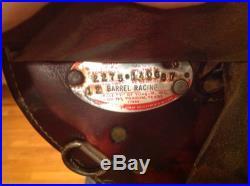 Circle Y 14 Barrel Trail Saddle