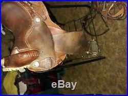 Circle Y 14 inch Barrel Saddle