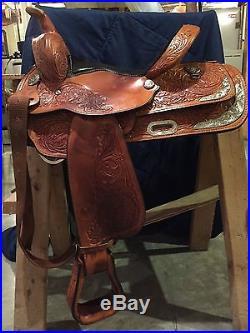 Circle Y 14 inch Western Pleasure Equitation Show Saddle