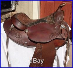 Circle Y 15 1/2 Arabian Western Saddle