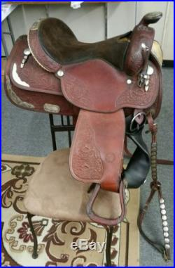Circle Y 16 Equitation Western Pleasure show saddle