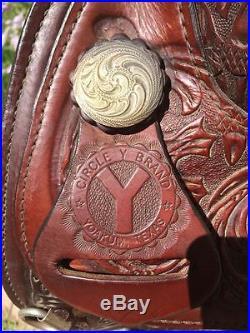 Circle Y 16 Softee Flex Tree Western Saddle