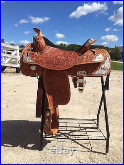 Circle Y 16 Western Pleasure Equitation Show Saddle