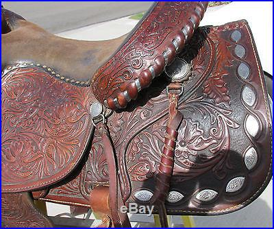 Circle Y 16 seat Western Pleasure Equitation Saddle no reserve