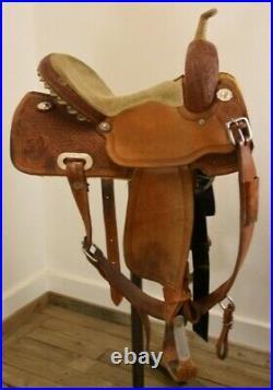 Circle Y Barrel Saddle 14in