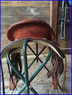 Circle Y Barrel Saddle 15