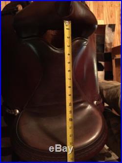 Circle Y Brand 1571 Flagstaff Flex Tree Trail Saddle 16 Inch Used