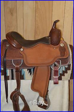 Circle Y Canton Performance Western Saddle 17 inch seat