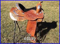 Circle Y Equitation Saddle 15 Seat Show Youth Saddle Used