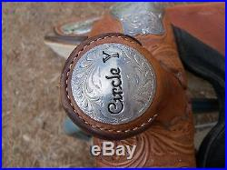 Circle Y Equitation Seat Show Saddle 15.5 Seat NO RESERVE
