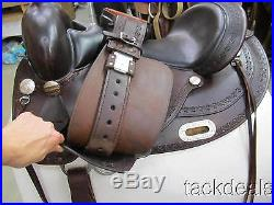 Circle Y Flex 2 Oasis Lite Trail Saddle 16 Lightly Used