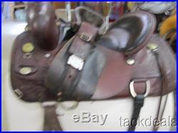 Circle Y Flex Carlsbad Trail Saddle 17 Used Good Shape