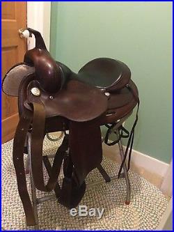Circle Y Flex Tree 15 inch saddle