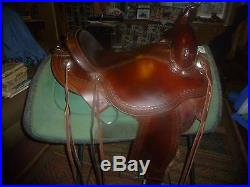 Circle Y Flex Tree Saddle 16 inch Pleasure/Trail