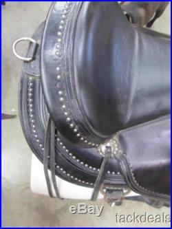Circle Y Highland Flex 2 Trail Saddle 17 Wide Lightly Used