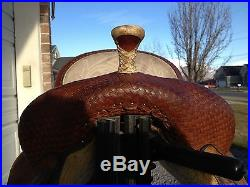 Circle Y Marlene Eddleman Barrel Saddle- 13.5