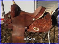 Circle Y Martha Josey Barrel Saddle