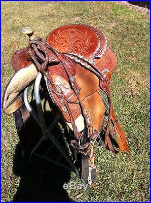 Circle Y Martha Josey Barrel Saddle 15