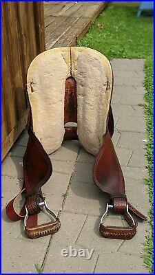 Circle Y Martha Josey Barrel Saddle 15 Western Round Skirt