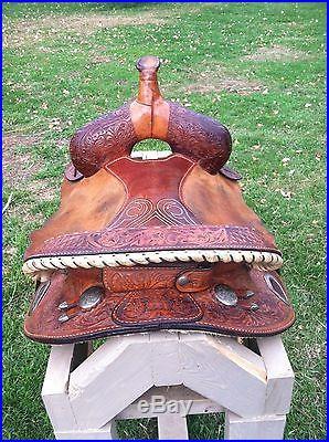 Circle Y Martha Josey Western Barrel Saddle