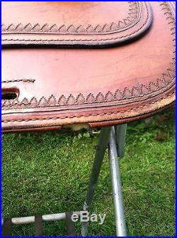 Circle Y Park & Trail Saddle Semi QH Tree 16 Seat