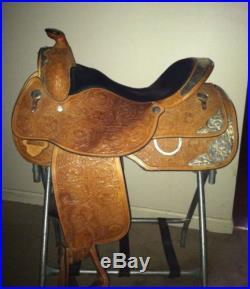 Circle Y Premium Western Pleasure 16 Show Saddle