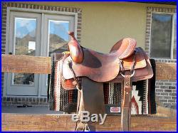 Circle Y Ranch Cutting Saddle